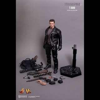 1/6 全新啡盒未開 Hot Toys  HotToys  Terminator 2 T-800 DX10 未來戰士