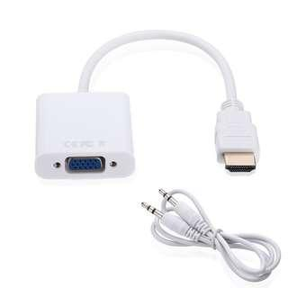 $10 VGA to HDMI cable adapter converter INSTOCK