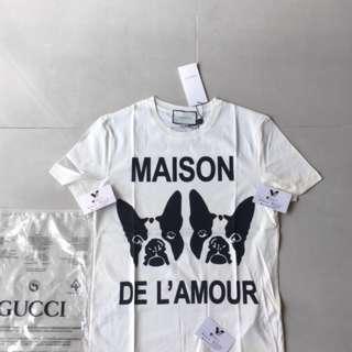 KAOS BAJU GUCCI TEE MAISON DE LAMOUR #maups4