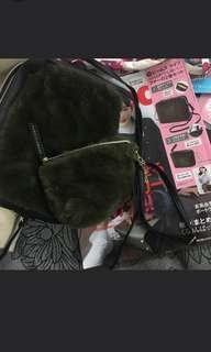 Japan magazine free furry bag