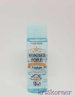 Etude House Woder Pore Toner Sample size