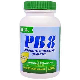 Nutrition Now, PB8, Pro-Biotic 嗜酸乳桿菌菌120粒