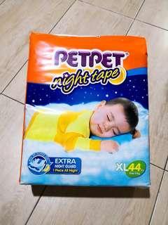 PetPet NightTape Diaper XL44