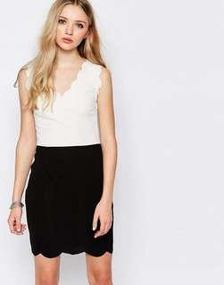 From ASOS - Scallop Dress UK10