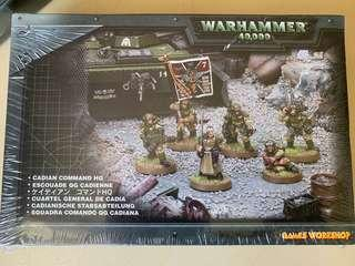 New warhammer 40k Acadian command HQ