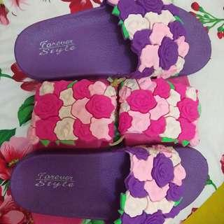 rosey slippers