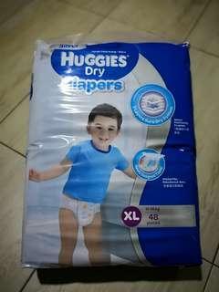 Huggies Dry Diaper XL48