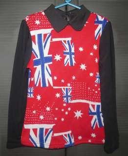 UK Long Sleeve Top
