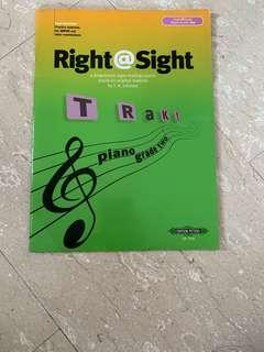 right at sight piano music book for sight reading grade 2