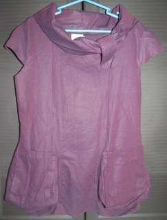 Long Purple Top