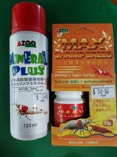 AZOO Mineral Plus and Max Shrimp Breed