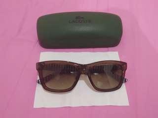 Stylish glasses Lacoste asli eropa