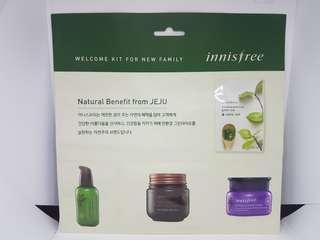 Innisfree Welcome Kit sampler