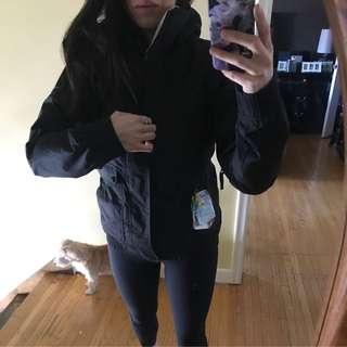 Burton Womens Black Snow Jacket Size Small