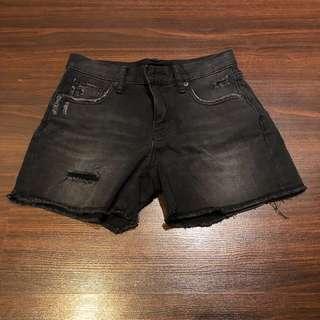 Uniqlo Black Denim Shorts