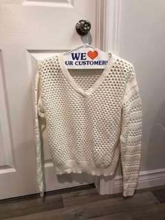 Babaton white Sweater