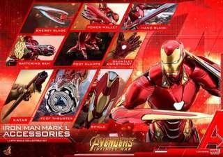 Hottoys 動漫節會場限定 HT Mark L Accessories Set w/bones part (ACS004B) hot toys Ironman