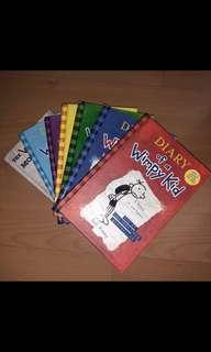 FLASH SALE! Diary of a Whimpy Kid Set