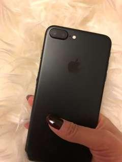 iPhone 7plus Black Matte 32GB
