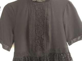 Beautiful lace Zara blouse