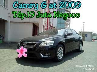 Toyota Camry G at 2009, Tdp.19 Juta Negooo, Hitam Keren Orisinil ##