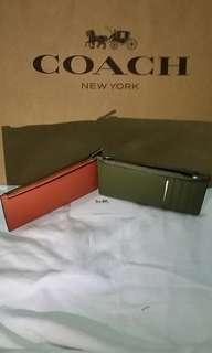 🚚 Coach Card Case with zip