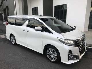 Toyota Alphard Modesta Sambung Bayar
