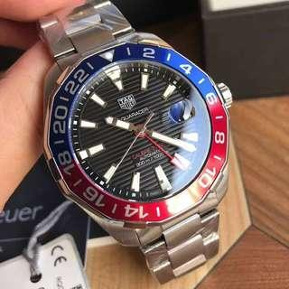 TAG HEUER ORIGINAL AQUARACER CALIBRE 7 GMT AUTOMATIC