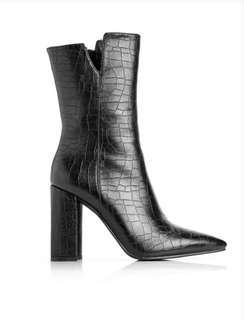 Fashionnova Crocodile Booties
