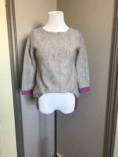 Nanette Lepore Merino Wool Knit Top