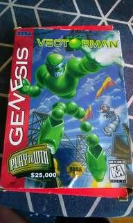 Vectorman for sega genesis