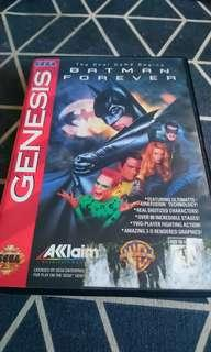 Batman Forever for sega genesis