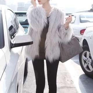 🔱 (More cols) Prose faux furrr overcoat / jacket