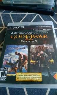 God of collection for ps3