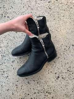 Philip Lim Shearling booties