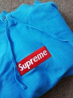 Blue Supreme Hoody