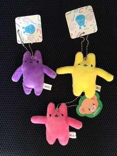 🚚 兔子 娃娃 吊飾  鑰匙圈
