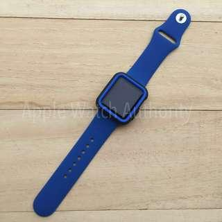 🚚 Combo - Replacement Strap and Bumper for Apple Watch