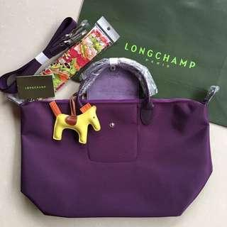 Longchamp and Lacoste Bags