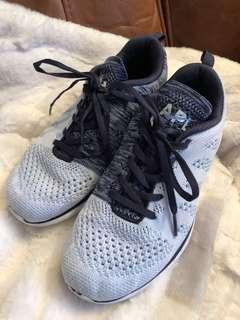 APL light blue knit sneakers size 7.5