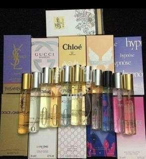 Cheap pocket perfumes