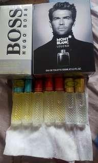 Long lasting non alcohol roll on perfumes