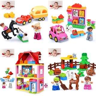 🚚 🌟PM for price🌟 🍀Kids Colourful Building Block🍀