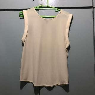Cream Mango Top