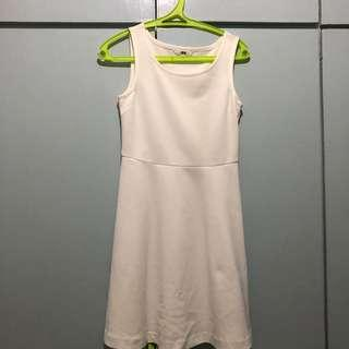 White Uniqlo Dress