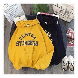 sweater stinger kuning