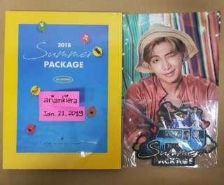 BTS SP18 Photobook, Travel Topper and RM Mini Poster for Margeeme