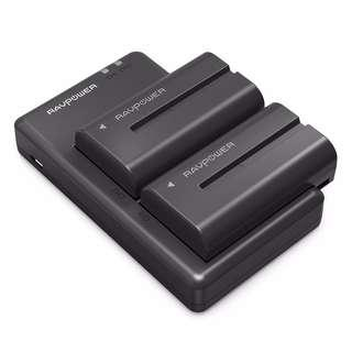 SONY NP-F550 Battery & Charger Set by RAVPower RP - BC006