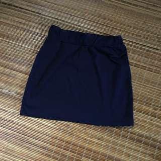 🚚 寶藍色短裙包裙