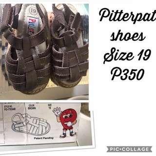 Brown pitterpat sandals